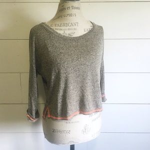 """•new• NWOT """"Geneva"""" taupe roll-tab top"""